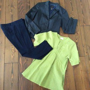 100% Cotton Lime Green Tunic